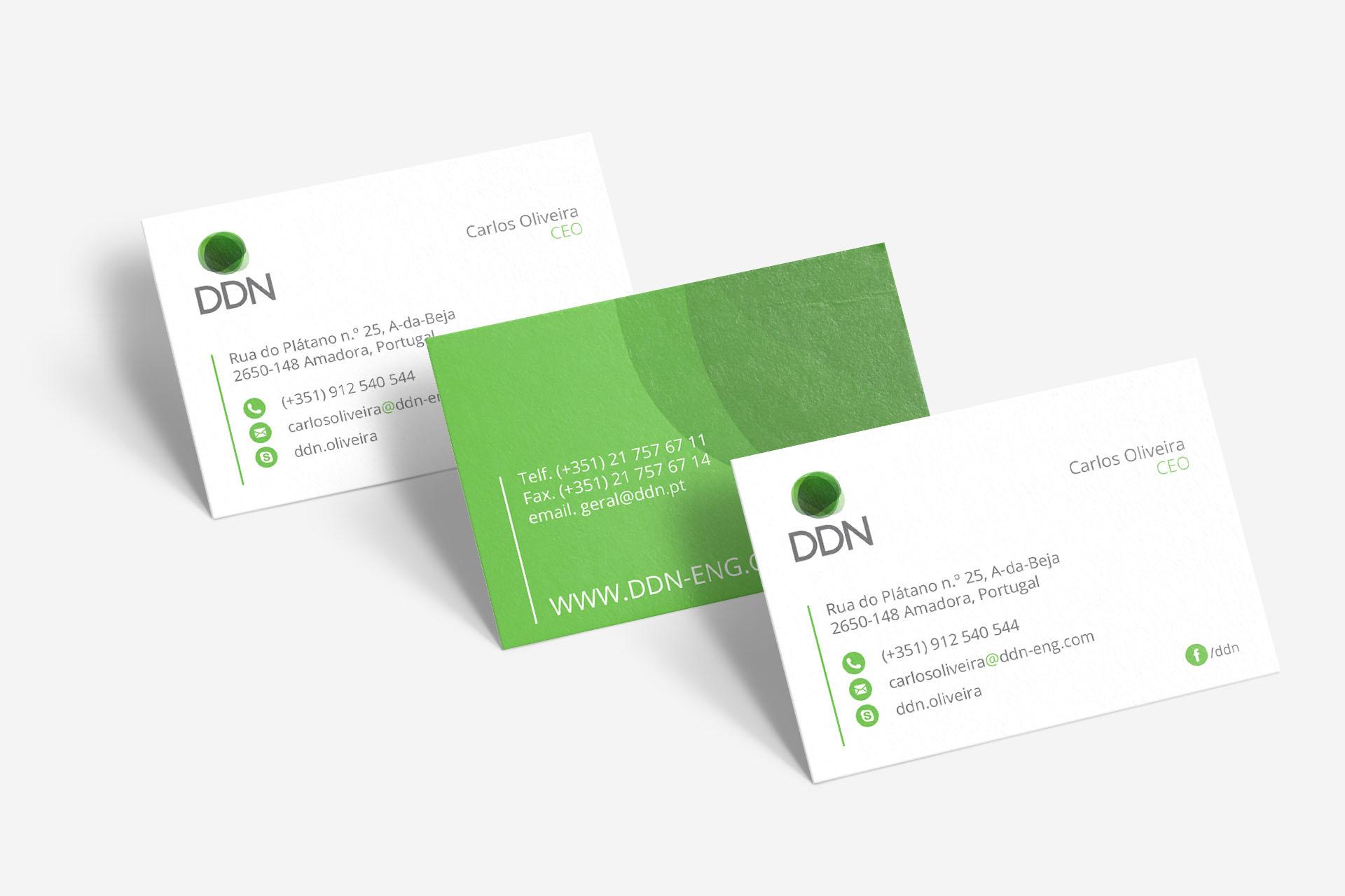 DDN - Cartões de Visita